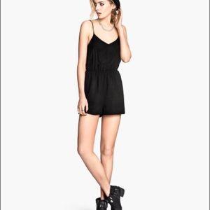 Black H&M romper